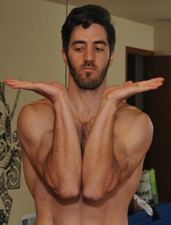 bboy wrist flexability