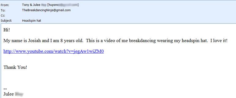 e71eda47dd5 Padded Headspin Hat – Breakdancing Ninja
