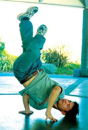 Breakdancing Ninja Student